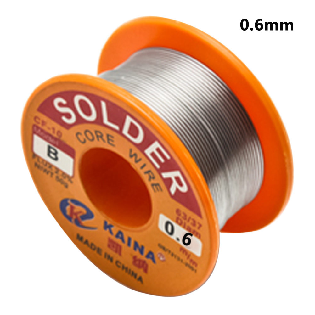 New 63//37 Tin Lead Line Soldering 0.8mm Rosin Core Solder Flux-Welding Wire Reel