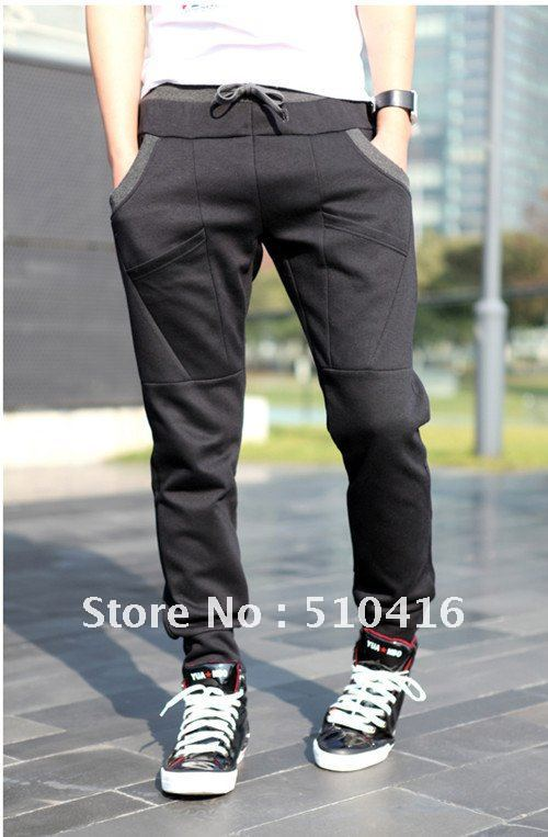 23537f5675ff61 NWT Men Womens Athletic Sporty Casual Tapered SweatPants Trousers Slacks  Joggers Training Jogging Sport Hip Hop Dance SweatPant-in Pants from Men s  Clothing ...