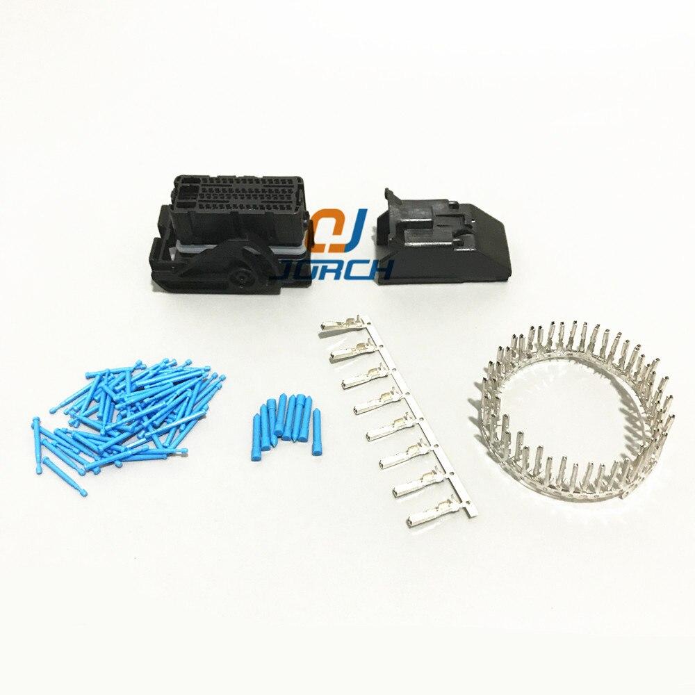 ECU female 64 pin way Molex automotive connector central contral system wire harness Connectors sets kits with crimp terminals