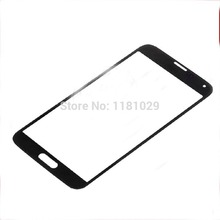 Whole Sale For Samsung Galaxy outer glass S5 i9600 Front Galss Lens LCD touch Screen Glass Lens Free Shipping With Logo