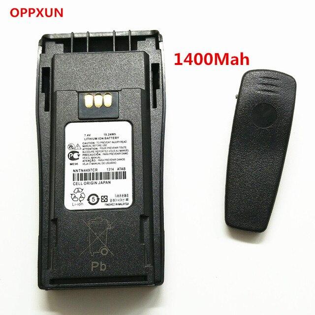 7.4 В 1400 мАч Литий-Ионный Аккумулятор для Портативной Рации Motorola GP3688 GP3188 EP450 PR400 CP140 CP150 CP160 CP180 CP200 CP250