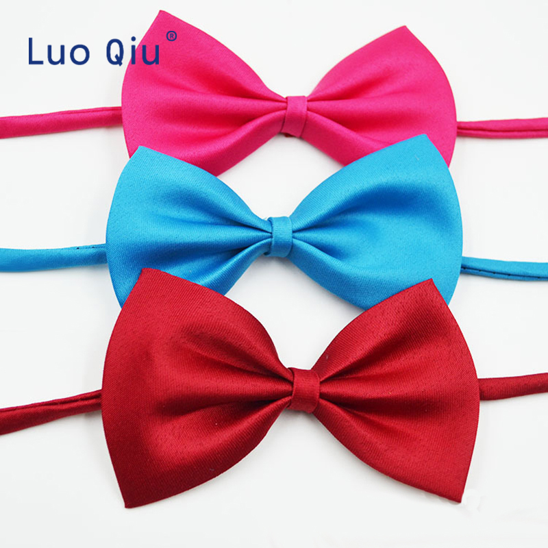 Parent-Child Bowtie Set Charming Kids Pets Adult Family Butterfly Satin Party Dinner Wedding Design Cute Bow Tie Accessory