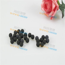 100PCS diameter 3.27mm 6.35mm NBR rubber ball nitrile rubber sealing rubber ball without seam Seamless rubber NBR ball