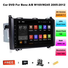 Android 7.11 Car DVD for Mercedes Benz Sprinter Vito W169 W245 W469 W639 B200 GPS Radio DAB Stereo Quad Core 2GB RAM with WIFI