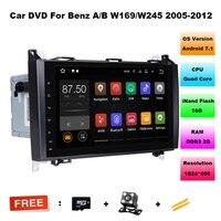 Android 7 11 Car DVD For Mercedes Benz Sprinter Vito W169 W245 W469 W639 B200 GPS