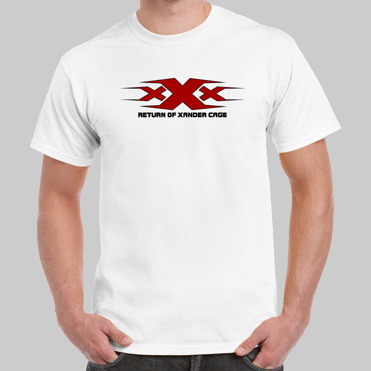 f815e72a US $13.04 13% OFF|XXX Logo Return of Xander Cage T shirt USA Size Short  Sleeves New Fashion T Shirt Men Clothing 2018 Brand T Shirt Homme Tees-in  ...