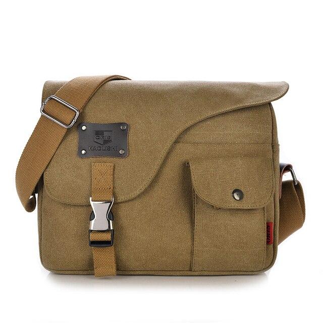2017 Brand New Retro Canvas Men Women Messenger Bag Satchel Crossbody  Shoulder Bags Travel Laptop Notebook 6152f6b98288d