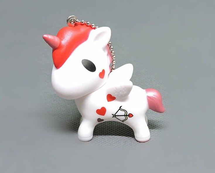 6pcs//set 7cm size Tokidoki unicorn action figure doll Mini Japanese Cartoon