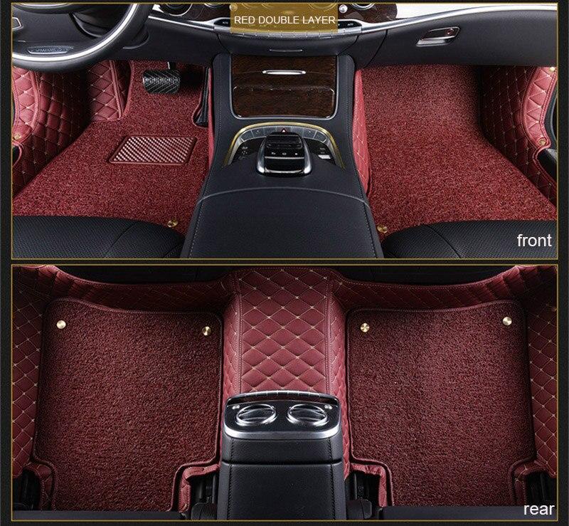 car floor mats for Hyundai solaris ix35 30 25 Elantra MISTRA GrandSantafe accent car styling Custom auto floor mats accessories