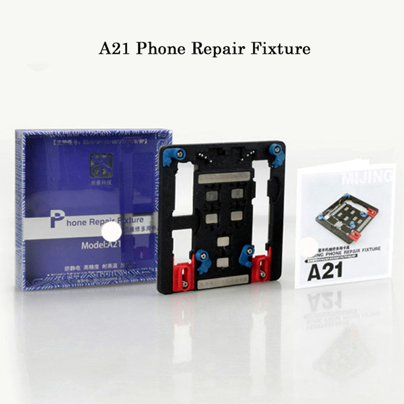 9 in1 MJA21 mobile phone repair motherboard fixture for iphone 5s 6g 6sp 7 7p 8 p multi-purpose compound fixed clamp fixture