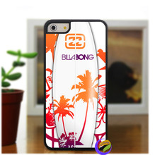 Billabong Surfboards Sunset Surf fashion case cover for iphone 4 4s 5 5s se 5C se 6 6 plus 6s 6s plus 7 7 plus & 6plus