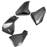 For Yamaha MT09 MT 09 FZ 09 2014 2017 Motorcycle Real Carbon Fiber Gas Tank Side Cover & Tank Side Fairings Air Intake Cover