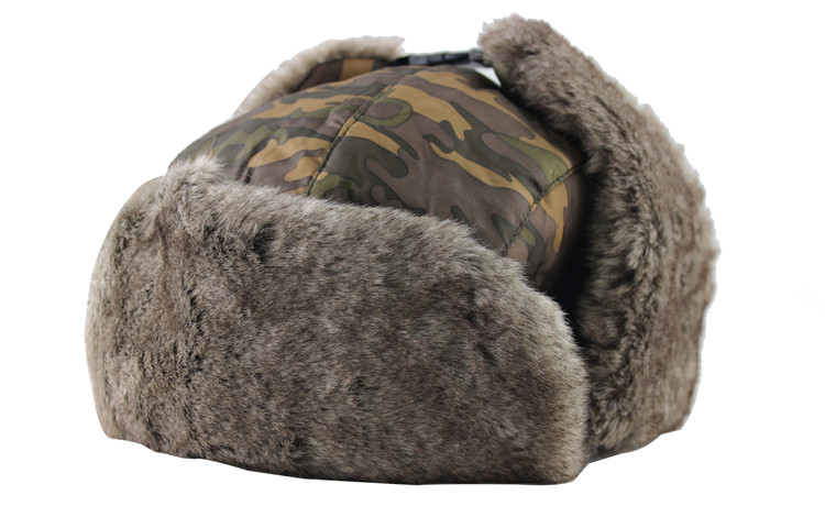 42ce5ef9082 CAMOLAND Winter Men Women Trapper Trooper Hat Bomber Hat With Ear ...