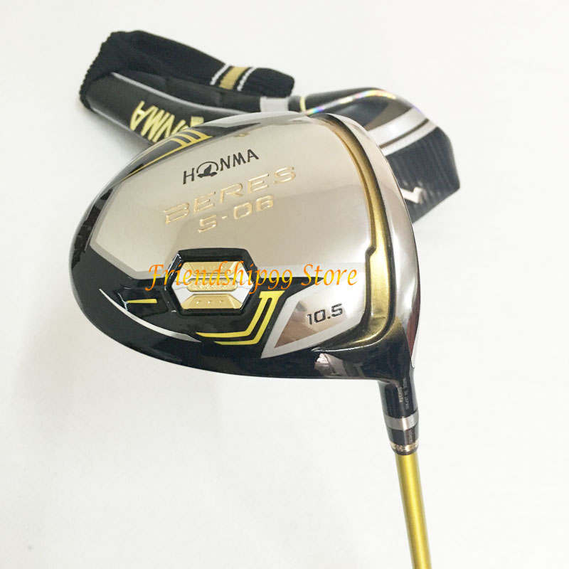 New Golf club HONMA S-06 3 star Golf complete clubs Driver+fairway wood+irons+putter+bag graphite shaft cover freeshipping 2