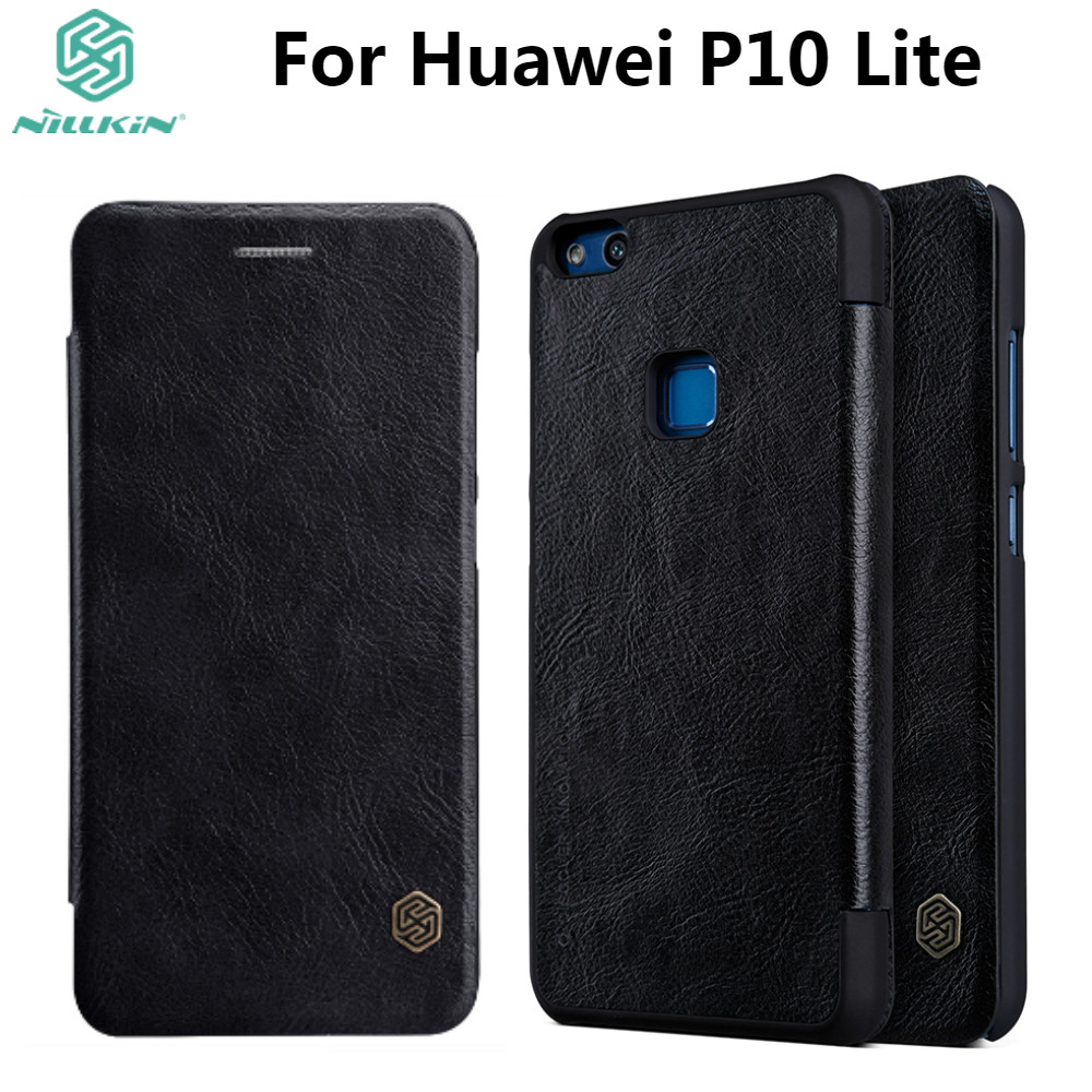 Nillkin Transparent Case For Huawei P10 Lite Cases 52inch Soft Silikon Lg V20 Nature Ultrathin 06mm Original Qin Leather Cover 52 Luxury Vintage