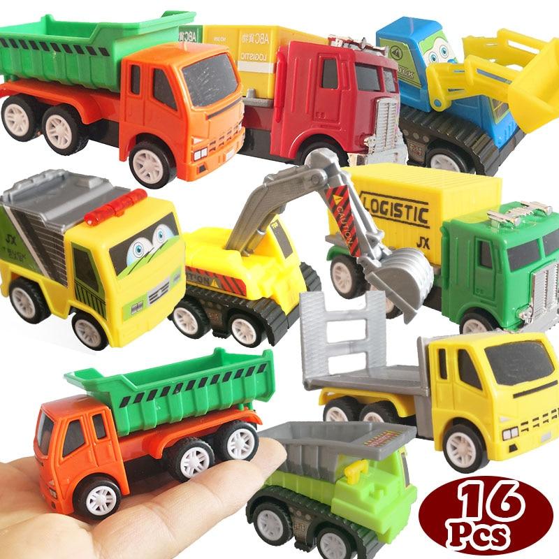 Modelo 16 Corrió Camiones Juguete Coche Vehículos Construcción De Carreras Piezas eoWrdxCB