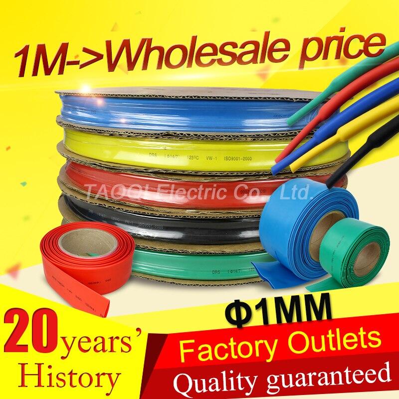 RED 1MM-12MM HEATSHRINK 2:1 TUBE TUBING SLEEVE SLEEVING HEAT SHRINK WRAP CABLE