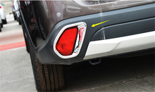 Accessories For Mitsubishi Outlander 2015 2016 2017 ABS Rear Tail Fog Light Lamp Trim Cover 2 Piece 2 piece 2 2015