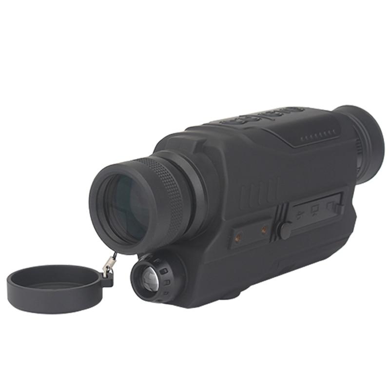 lowest price Wildgameplus 5X40 Digital Night Vision Monocular with 8G TF Card Hunting Night Vision Scope Video Recorder Night Vision Optics