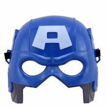 Captain America A mask kids Party Cosplay Mask Halloween Children Alliance Adult Children Toy Upper half mask supplies