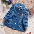 2017 Spring Denim Jackets for Baby Girls Infants Spring Outerwear Sport Coats Child Kids Clothes Newborn Girl Clothing Cloth