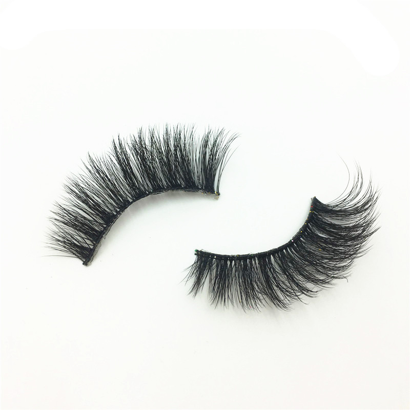 Image 5 - 5 Pairs 3D Faux Mink Hair Soft False Eyelashes Fluffy Wispy Thick Lashes Handmade Soft Natural Eye Makeup Extension Tools-in False Eyelashes from Beauty & Health