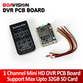 1CH Mini DVR Real time HD DVR PCB Board Support Power-up Record Motion Detect Record etc
