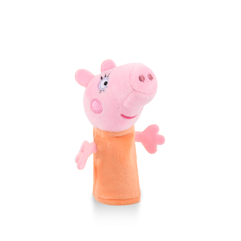 Genuine Peppa Pig Finger Puppets Plush Baby Toy children's Finger Puppets Educational Story Hand Puppet stuffed doll kids toy 41