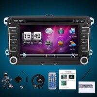 7 2 Din Windows Ce Car DVD GPS Radio Player for Volkswagen VW golf 6 Touran Passat B7 Sharan Lavida Polo Tiguan