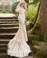 Najowpjg 2017 New Arrive Charming Strapless Mermaid Wedding Dress Exquisite Appliques Vestido Gorgeous Lace Bridal Gown Hot Sale