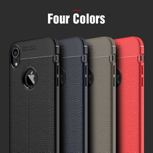Fashion Lichee Leather Back Phone Case Protective Smartphone Soft Litchi striae Shockproof Case For iPhoneX 5.8 Case Cover стоимость