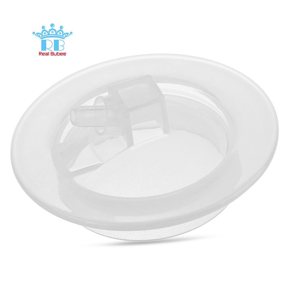 RealBubee Mummy Breast Pump Solid Color Cylinder Head Safe Nontoxic Help Breastfeeding Baby Feeding Replacement Parts Accessory