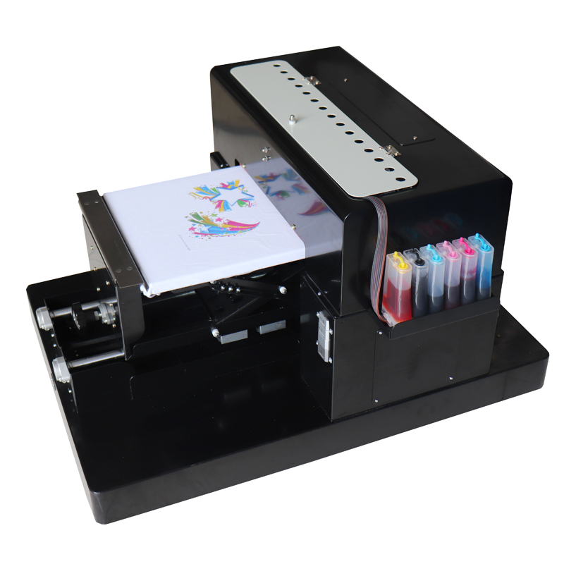 A3 flatbed printer digital printing machine for Epson R1390 (220V) for phone case, T-shirt,PVC,PU,TPU,ABS material printing fruit tree bird blessing letter digital printing pillow case