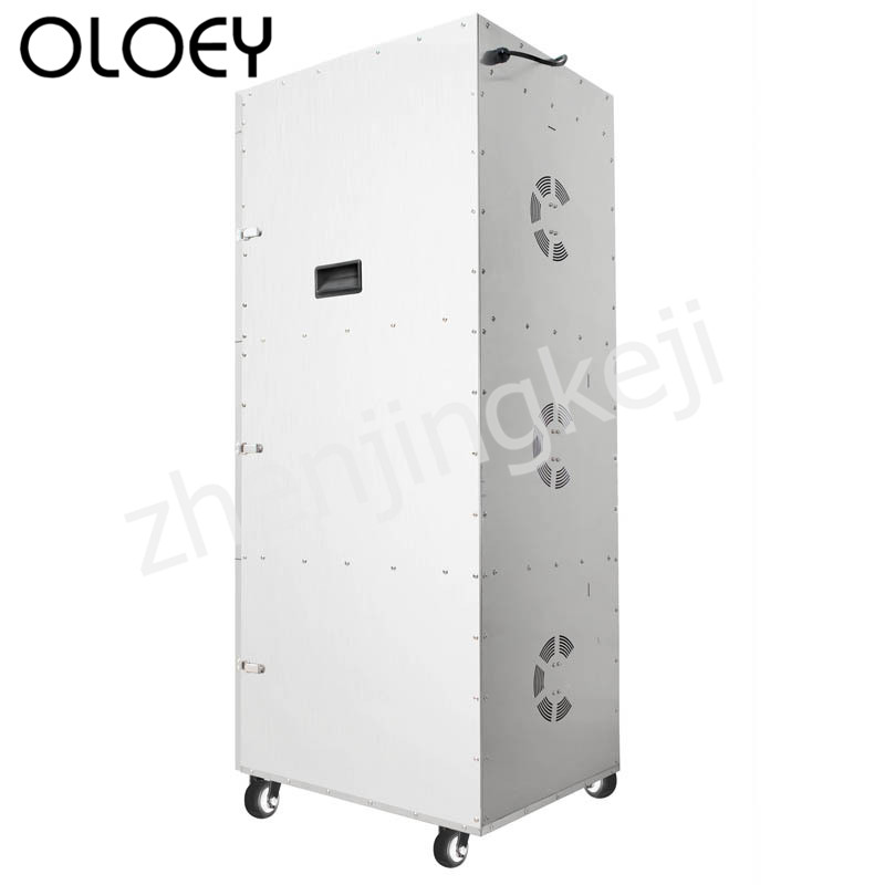Food Dehydration Dryer Fruit And Vegetable Dryer High Capacity Stainless Steel Three Open Doors Touch Screen Temperature Control
