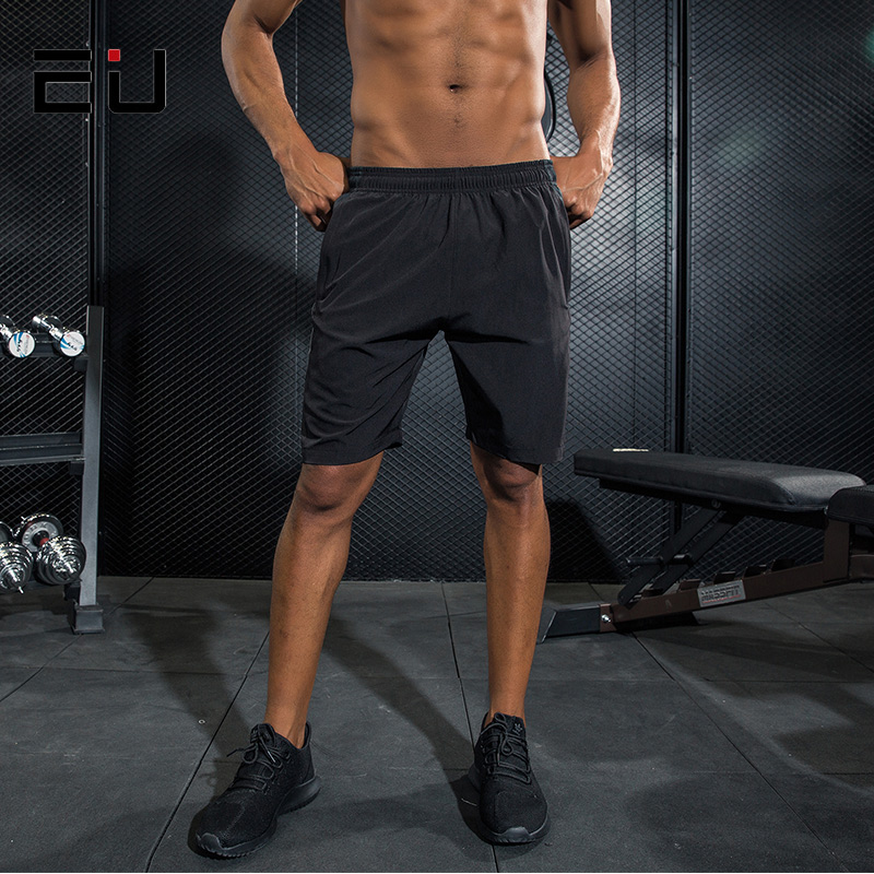 EU Mens Sport Shorts Men Reflective Running Shorts Quick Dry Fit Breathable Basketball Football Training Short Running Men Short ...