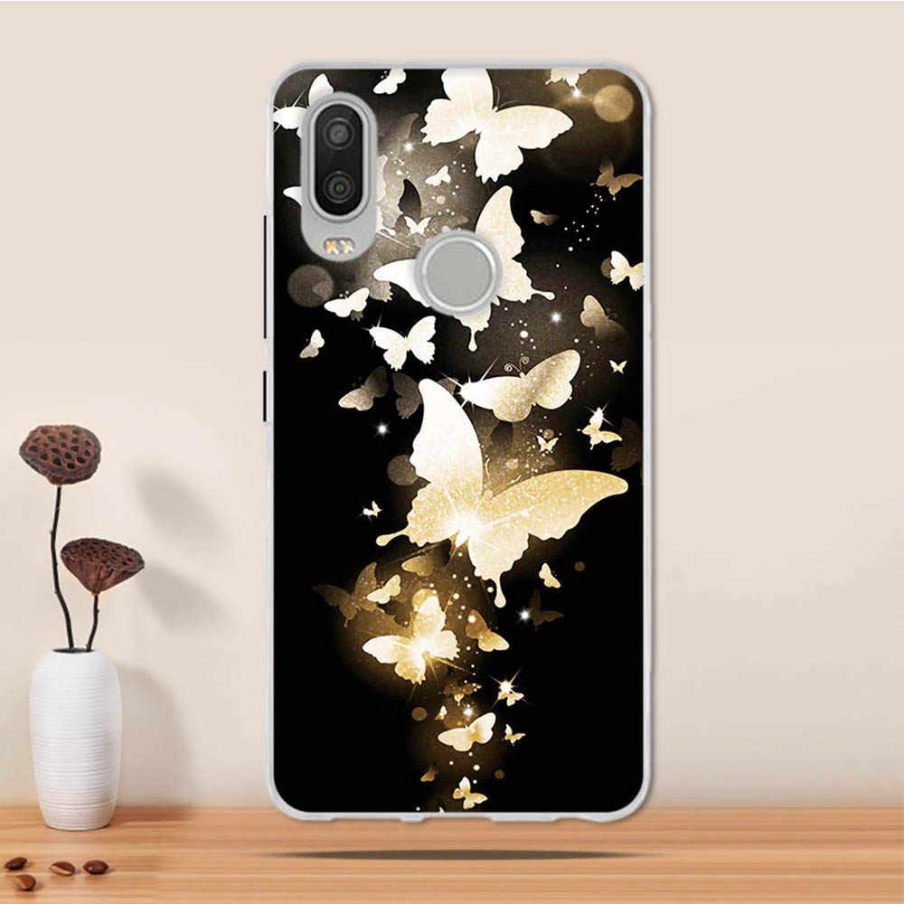 Untuk BQ Aquaris X2 Pro Case Silikon Lembut TPU Coque untuk BQ Aquaris X2 Cover Case Funda untuk BQ Aquaris x2/X2 Pro Ponsel Case Capa