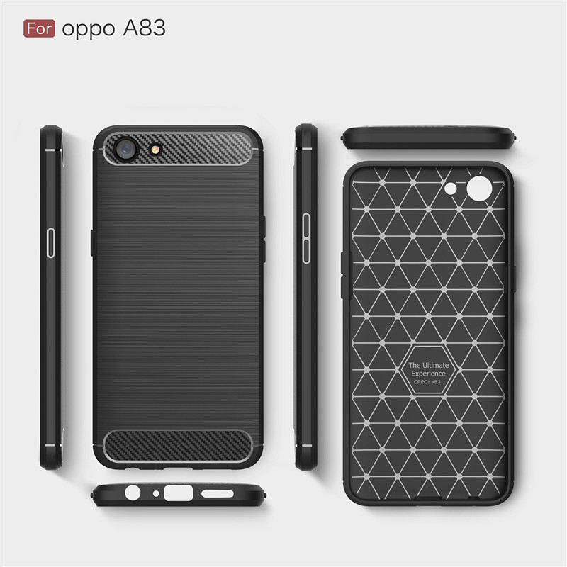 reputable site e6c08 43587 US $2.89 |Fecoprior OPPOA83 A 83 Case for OPPO A83 Back Cover Carbon Fiber  Luxury Protective Armor Phone Celulars Coque-in Fitted Cases from ...