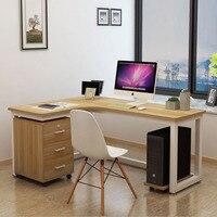 Computer desk desktop table home corner office desk bookcase integrated simple student desk
