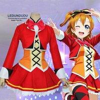 Hot Love Live Cosplay Costumes Kousaka Honoka Sunny Day Song Dress Fancy Party Uniforms Women Outift