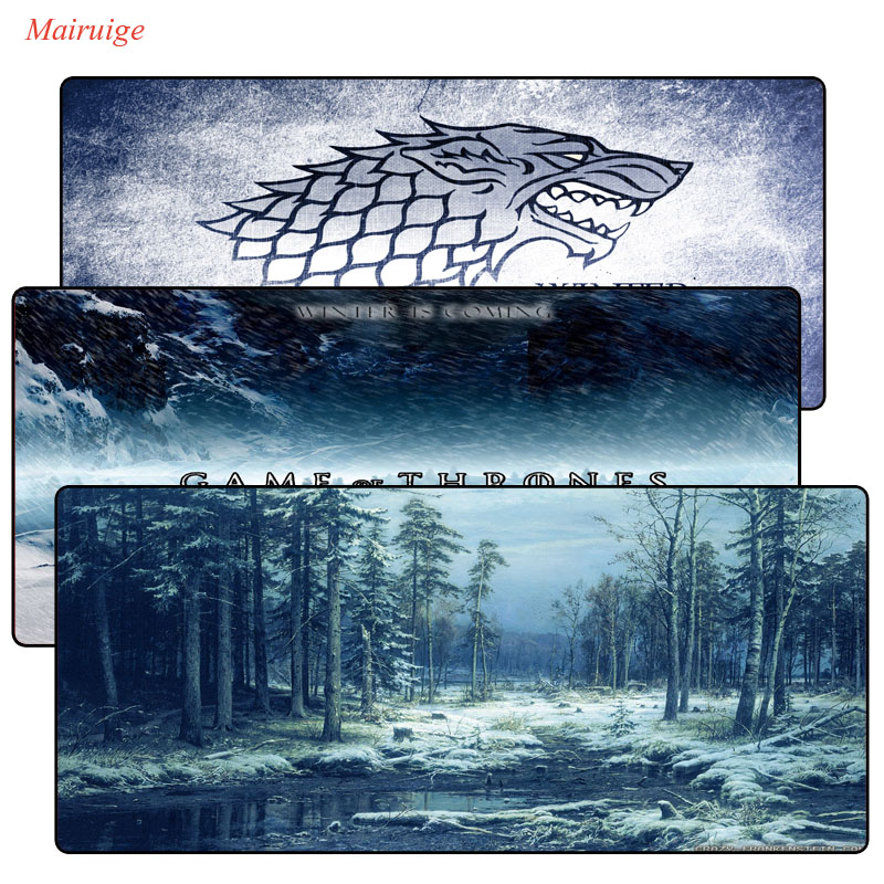 Mairuige Game Of Thrones Scenery Gamer Play Mats Mousepad Large Gaming Mouse Pad Anti-slip Perfect Locking PC Computer Desk Mat