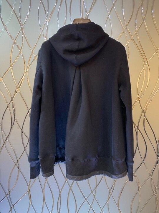 Automne Femmes Noir Longues Cordon Fermeture Chapeau Décoratif Manches Hiver Court De Éclair Vêtements Décolleté Coat1011 Sauvages 2018 BEqPTwdB