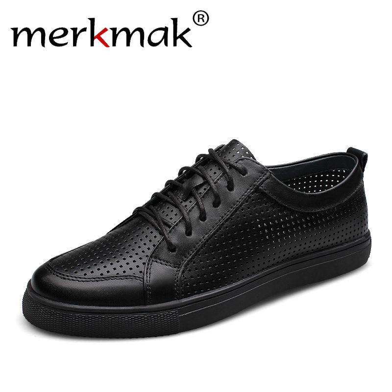 Big Size 47 breathable men genuine leather shoes cowhide casual brand men flat shoes summer fashion lace up foowear for adults насадки для зубной щетки oral b eb30