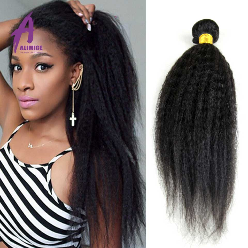 US $60.3 |Malaysian Virgin Hair Coarse Yaki