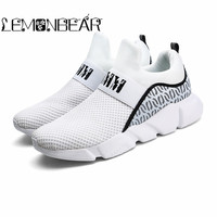 Brand Autumn Men Socks Sneaker Breathable Mesh Male Casual Shoes Slip on Sock Shoes Loafers Boys Super Light Sock Trainers Lazy