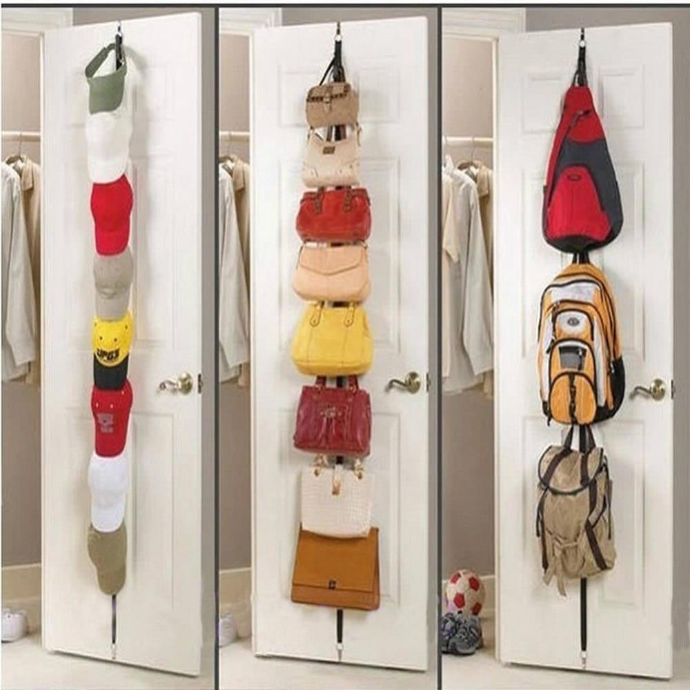 Free Shipping Adjustable Over Door Straps Hanger Hat Bag Coat Clothes Rack  Organizer 8 Hooks In Hooks U0026 Rails From Home U0026 Garden On Aliexpress.com    Alibaba ...