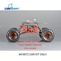 Hsp rc racing car rock crawler 1/10 4wd eléctrico off road crawler 94180t2 kit sólo