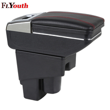 For Honda Fit Jazz 2003-2007 Car Armrest Box Styling Central Store Content Cup Holder Interior Auto Accessories