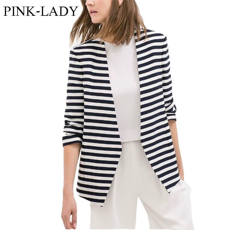 Popular Womens Black and White Striped Blazer-Buy Cheap Womens ...