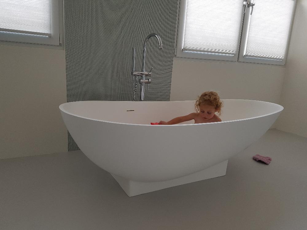 Vasca Da Bagno Freestanding : 1800x820x540mm superficie solida resina cupc approvazione vasca da