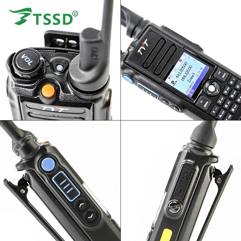 Image 5 - Original 5W TYT GPS IP 67 Waterproof Dual Band 144/430 Digital DMR Two Way Radio MD 2017-in Walkie Talkie from Cellphones & Telecommunications